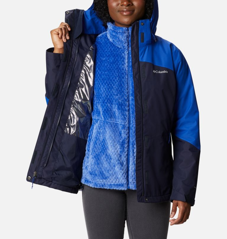 Bugaboo™ II Fleece Interchange Jacket | 473 | S Women's Bugaboo™ II Fleece Interchange Jacket, Dark Nocturnal, Lapis Blue, a3