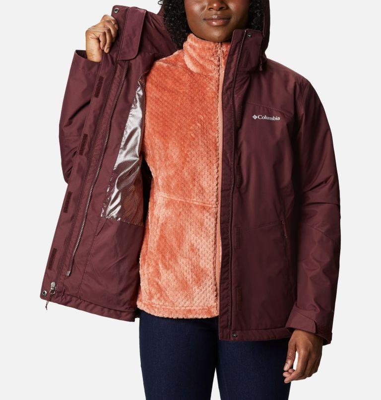 Bugaboo™ II Fleece Interchange Jacket | 671 | XS Women's Bugaboo™ II Fleece Interchange Jacket, Malbec, a3