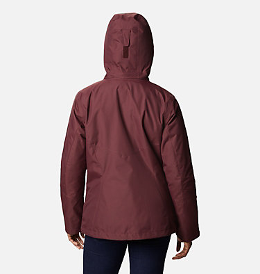 Women's Bugaboo™ II Fleece Interchange Jacket Bugaboo™ II Fleece Interchange Jacket | 370 | XS, Malbec, back
