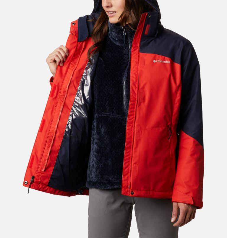 Bugaboo™ II Fleece Interchange Jacket | 843 | M Women's Bugaboo™ II Fleece Interchange Jacket, Bold Orange, a3