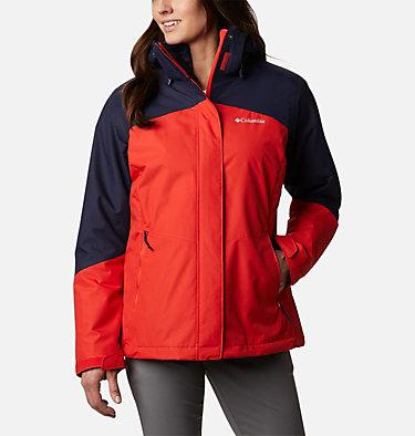 Bugaboo™ II 3-in-1-Fleecejacke für Frauen Bugaboo™ II Fleece Interchange Jacket | 100 | L, Bold Orange, front