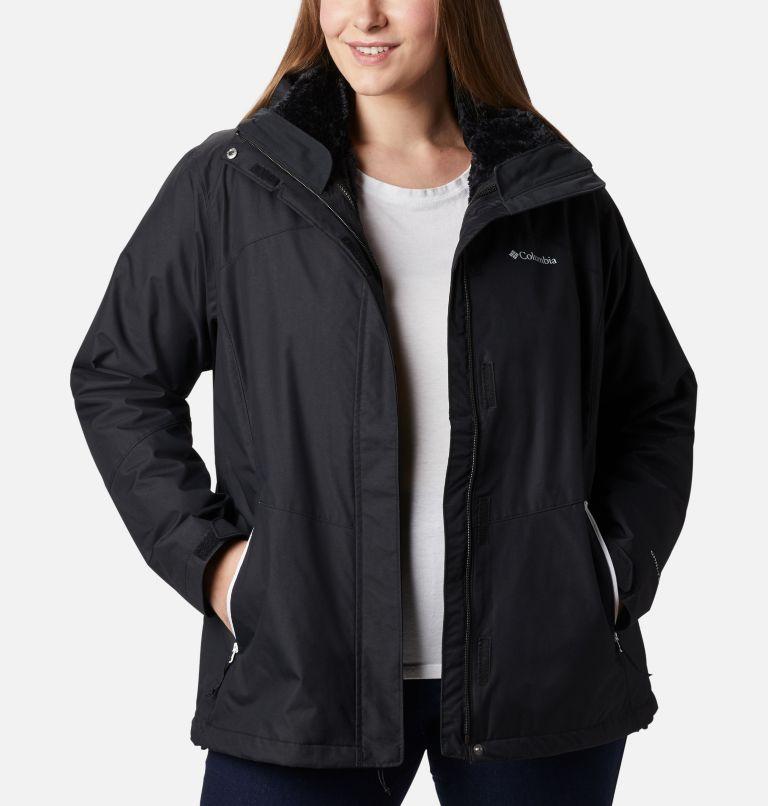 Manteau Interchange en laine polaire Bugaboo II pour femme — Grandes tailles Manteau Interchange en laine polaire Bugaboo II pour femme — Grandes tailles, front