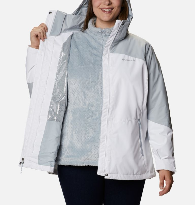 Women's Bugaboo™ II Fleece Interchange Jacket - Plus Size Women's Bugaboo™ II Fleece Interchange Jacket - Plus Size, a3
