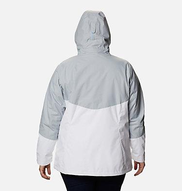Women's Bugaboo™ II Fleece Interchange Jacket - Plus Size Bugaboo™ II Fleece Interchange Jacket | 100 | 1X, White, Cirrus Grey, back