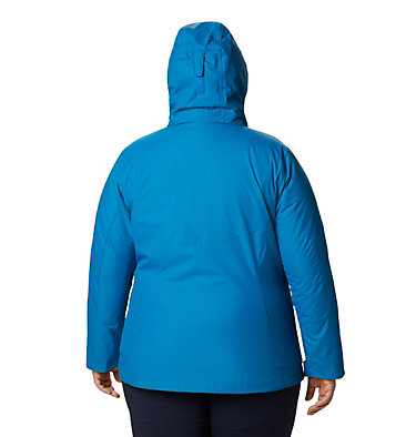 Women's Bugaboo™ II Fleece Interchange Jacket - Plus Size Bugaboo™ II Fleece Interchange Jacket | 453 | 1X, Fathom Blue, back