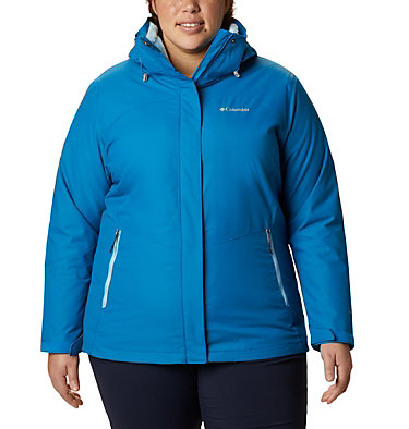 Women's Bugaboo™ II Fleece Interchange Jacket - Plus Size Bugaboo™ II Fleece Interchange Jacket | 100 | 1X, Fathom Blue, front