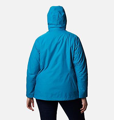 Women's Bugaboo™ II Fleece Interchange Jacket - Plus Size Bugaboo™ II Fleece Interchange Jacket | 100 | 1X, Fjord Blue, back