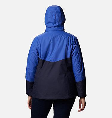 Women's Bugaboo™ II Fleece Interchange Jacket - Plus Size Bugaboo™ II Fleece Interchange Jacket | 100 | 1X, Dark Nocturnal, Lapis Blue, back