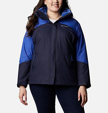 Women's Bugaboo™ II Fleece Interchange Jacket - Plus Size Bugaboo™ II Fleece Interchange Jacket | 100 | 1X, Dark Nocturnal, Lapis Blue, front