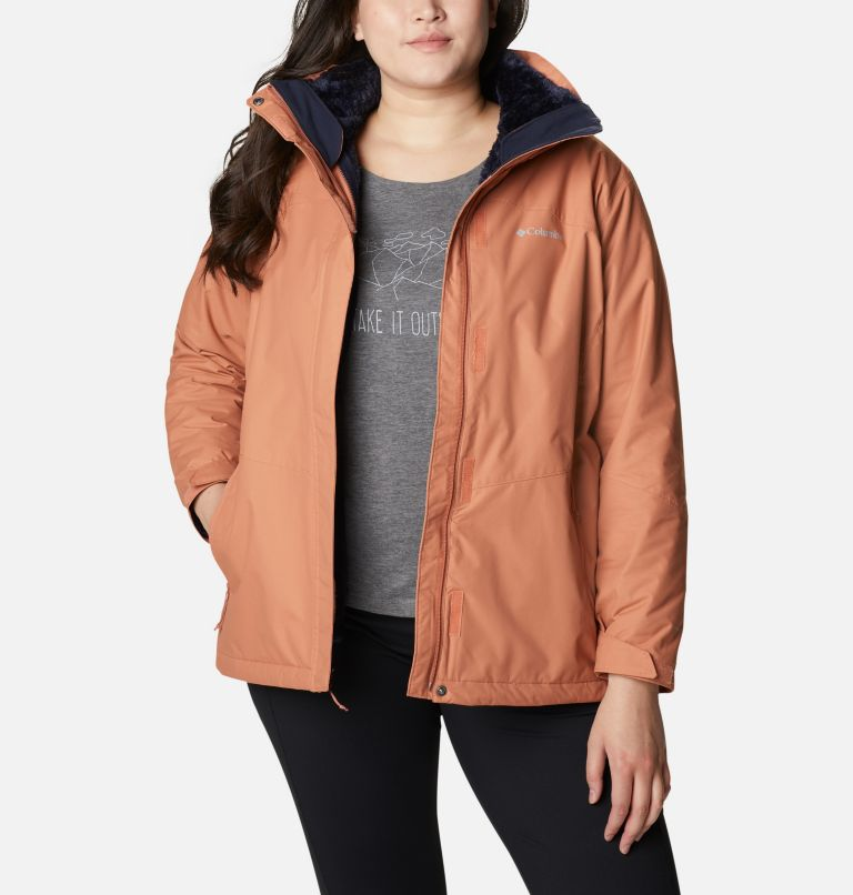 Women's Bugaboo™ II Fleece Interchange Jacket - Plus Size Women's Bugaboo™ II Fleece Interchange Jacket - Plus Size, front