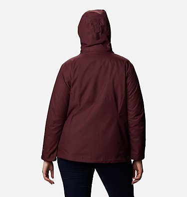 Women's Bugaboo™ II Fleece Interchange Jacket - Plus Size Bugaboo™ II Fleece Interchange Jacket | 100 | 1X, Malbec, back