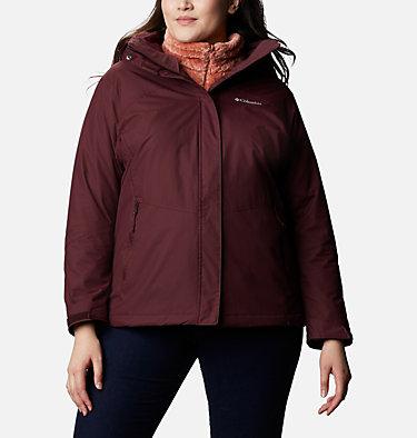 Women's Bugaboo™ II Fleece Interchange Jacket - Plus Size Bugaboo™ II Fleece Interchange Jacket | 100 | 1X, Malbec, front