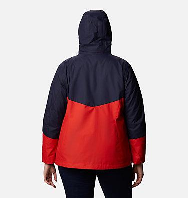 Women's Bugaboo™ II Fleece Interchange Jacket - Plus Size Bugaboo™ II Fleece Interchange Jacket | 100 | 1X, Bold Orange, back