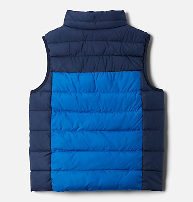 Gilet Matelassé Powder Lite™ Junior Powder Lite™ Puffer Vest | 695 | L, Bright Indigo, Collegiate Navy, back