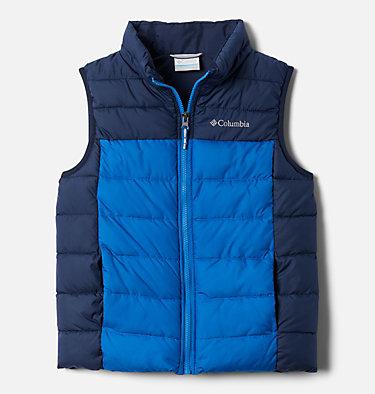 Youth Powder Lite™Puffer Vest Powder Lite™ Puffer Vest   695   L, Bright Indigo, Collegiate Navy, front