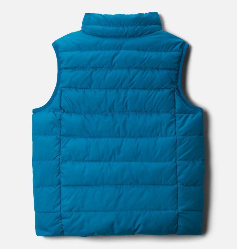 Kids' Powder Lite™ Puffer Vest Kids' Powder Lite™ Puffer Vest, back