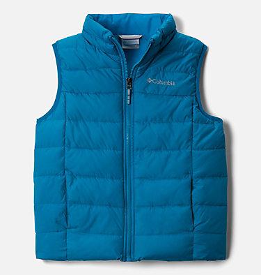 Kids' Powder Lite™ Puffer Vest Powder Lite™ Puffer Vest   010   L, Fjord Blue, front