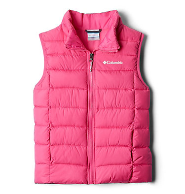 Gilet Matelassé Powder Lite™ Junior Powder Lite™ Puffer Vest | 695 | L, Pink Ice, front