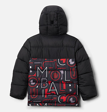 Pike Lake™ Jacke Junior Pike Lake™ Jacket | 012 | XS, Black, Red Multi Typo Print, back
