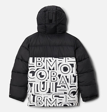 Youth Pike Lake™ Jacket Pike Lake™ Jacket | 012 | XS, Black, White Typo Print, back