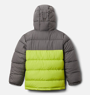 Pike Lake™ Jacke Junior Pike Lake™ Jacket | 012 | XS, City Grey, Bright Chartreuse, back