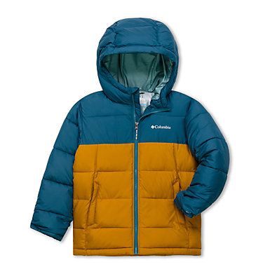 Youth Pike Lake™ Jacket Pike Lake™ Jacket | 082 | L, Blue Heron, Canyon Gold, front