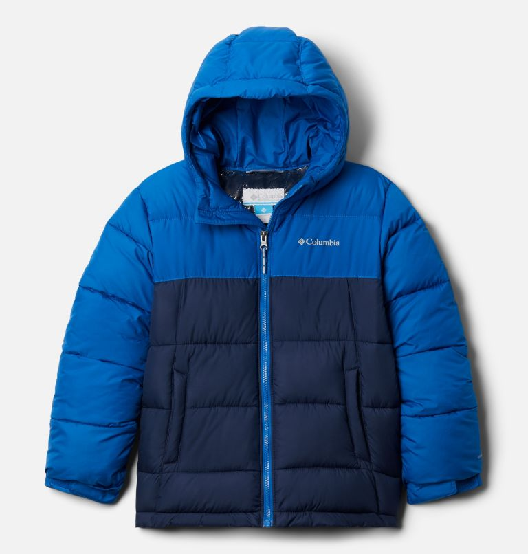 Pike Lake™ Jacket | 432 | XS Kids' Pike Lake™Jacket, Bright Indigo, Collegiate Navy, front