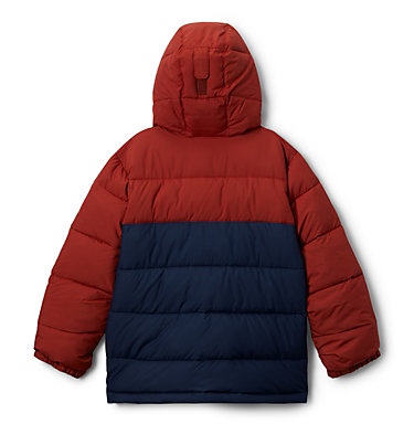 Pike Lake™ Jacke Junior Pike Lake™ Jacket | 012 | XS, Carnelian Red, Collegiate Navy, back