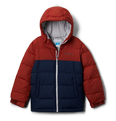 Youth Pike Lake™ Jacket Pike Lake™ Jacket | 082 | L, Carnelian Red, Collegiate Navy, front