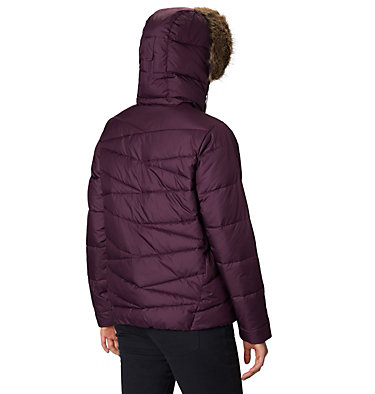 Women's Peak to Park™ Insulated Jacket Peak to Park™ Insulated Jacket | 671 | L, Black Cherry, back