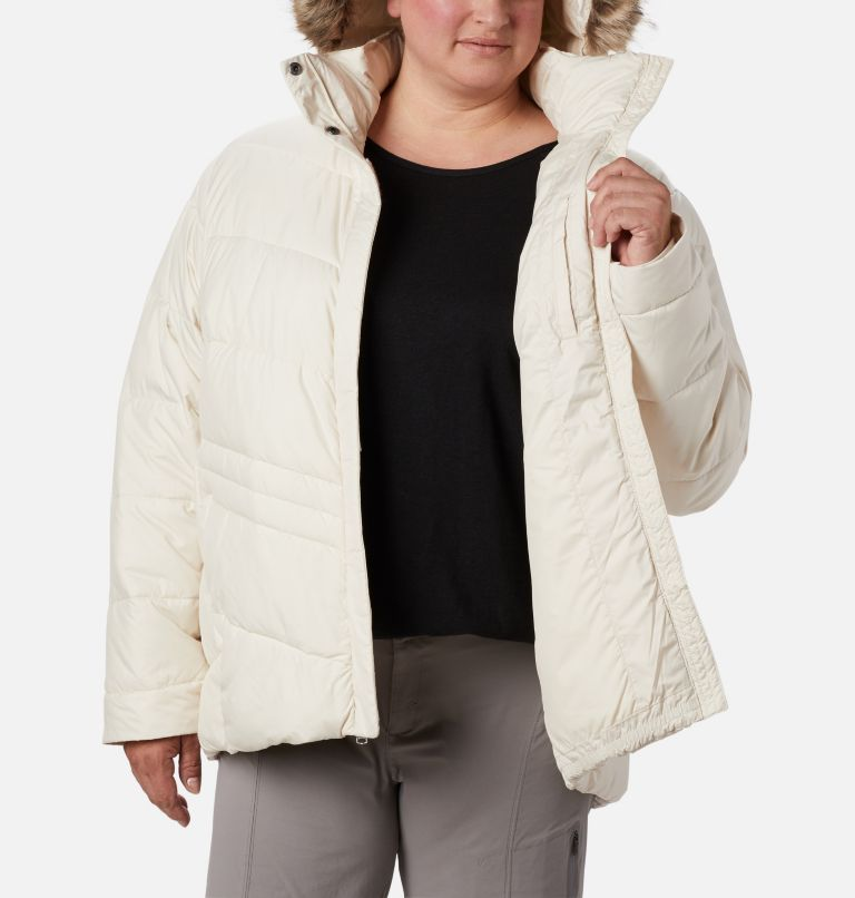 Peak to Park™ Insulated Jacket | 191 | 1X Women's Peak to Park™ Insulated Jacket - Plus Size, Chalk, a3