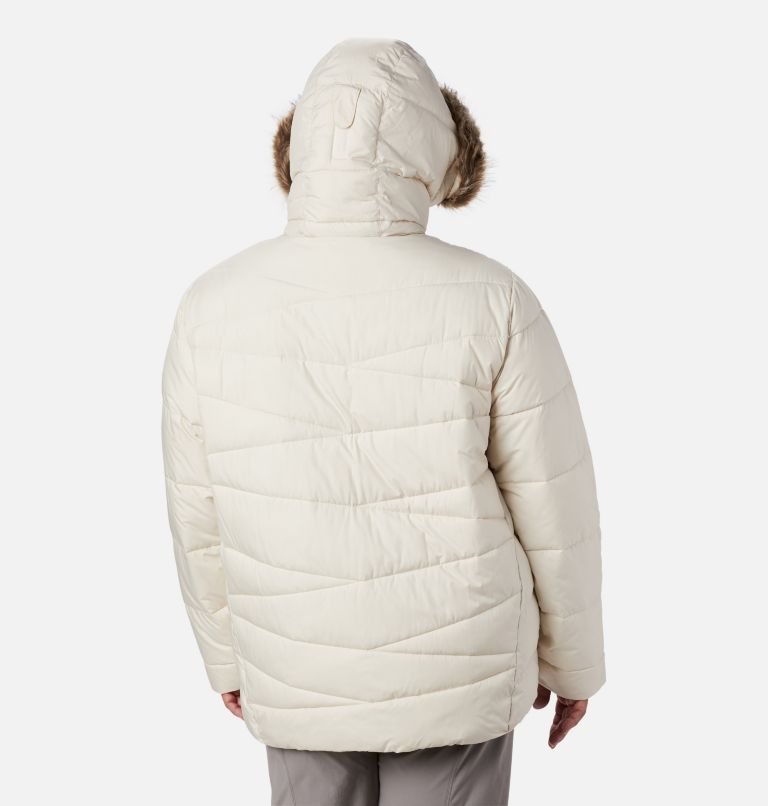 Peak to Park™ Insulated Jacket | 191 | 3X Women's Peak to Park™ Insulated Jacket - Plus Size, Chalk, back