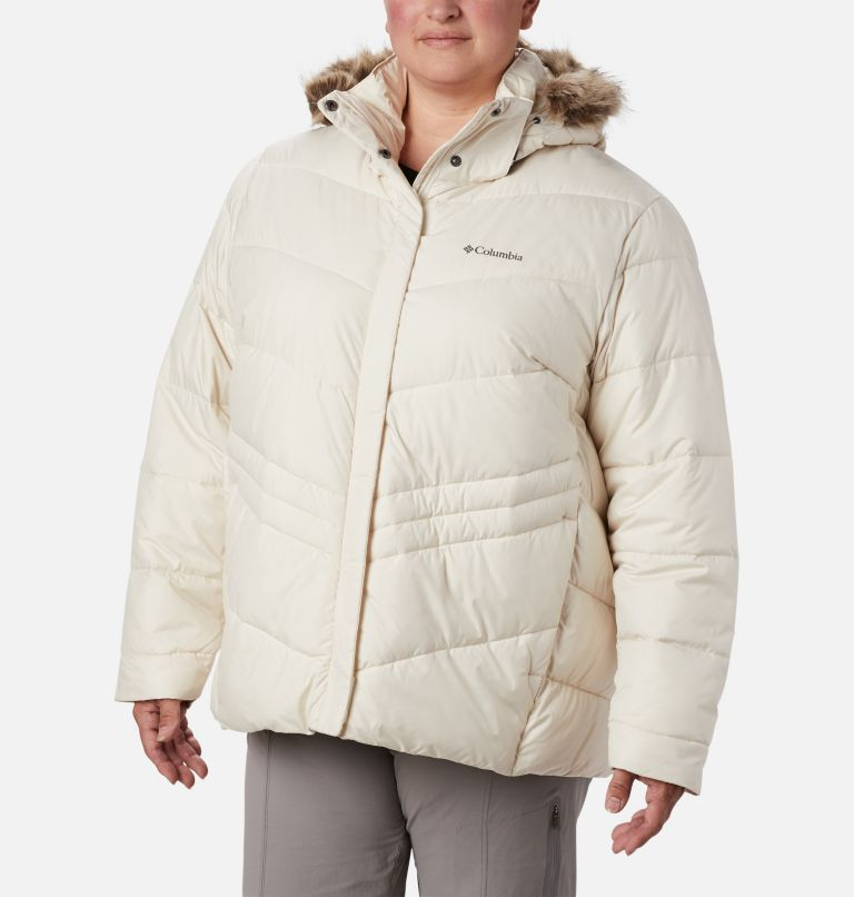 Peak to Park™ Insulated Jacket | 191 | 1X Women's Peak to Park™ Insulated Jacket - Plus Size, Chalk, front