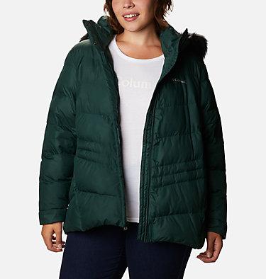 Women's Peak to Park™ Insulated Jacket - Plus Size Peak to Park™ Insulated Jacket | 671 | 1X, Spruce, front