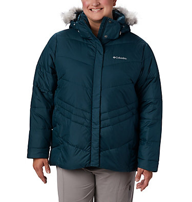 Women's Peak to Park™ Insulated Jacket - Plus Size Peak to Park™ Insulated Jacket | 671 | 1X, Dark Seas, front