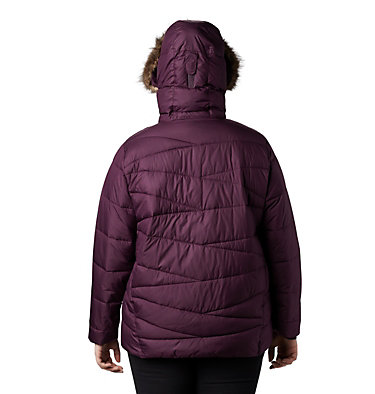 Women's Peak to Park™ Insulated Jacket - Plus Size Peak to Park™ Insulated Jacket   671   1X, Black Cherry, back