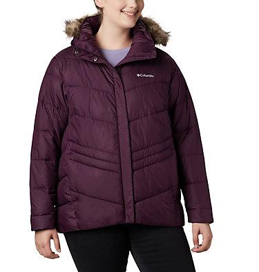 Women's Peak to Park™ Insulated Jacket - Plus Size Peak to Park™ Insulated Jacket   671   1X, Black Cherry, front