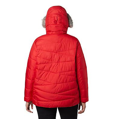 Women's Peak to Park™ Insulated Jacket - Plus Size Peak to Park™ Insulated Jacket   671   1X, Red Lily, back