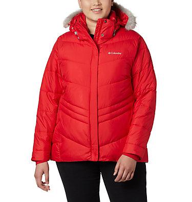 Women's Peak to Park™ Insulated Jacket - Plus Size Peak to Park™ Insulated Jacket   671   1X, Red Lily, front