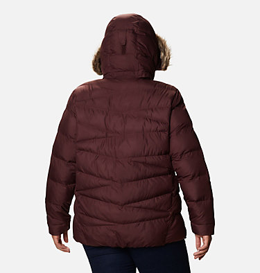 Women's Peak to Park™ Insulated Jacket - Plus Size Peak to Park™ Insulated Jacket | 671 | 1X, Malbec, back