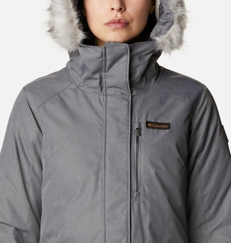Suttle Mountain™ Long Insulated Jacket | 023 | L Women's Suttle Mountain™ Long Insulated Jacket, City Grey, a2