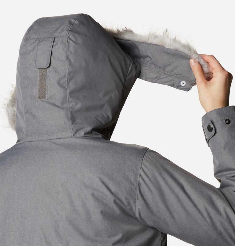 Suttle Mountain™ Long Insulated Jacket   023   S Women's Suttle Mountain™ Long Insulated Jacket, City Grey, a4