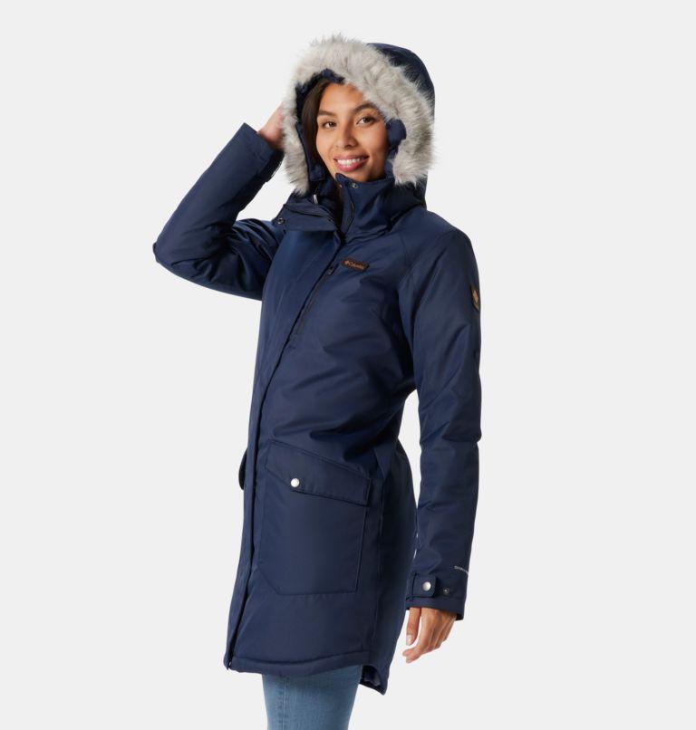Suttle Mountain™ Long Insulated Jacket | 472 | M Women's Suttle Mountain™ Long Insulated Jacket, Dark Nocturnal, a1