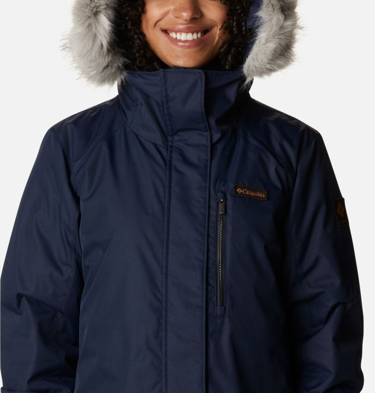 Suttle Mountain™ Long Insulated Jacket   472   XS Women's Suttle Mountain™ Long Insulated Jacket, Dark Nocturnal, a2