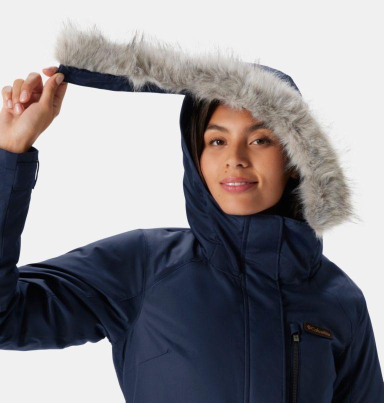 Suttle Mountain™ Long Insulated Jacket | 472 | M Women's Suttle Mountain™ Long Insulated Jacket, Dark Nocturnal, a3
