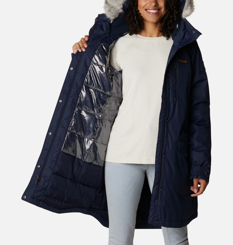 Suttle Mountain™ Long Insulated Jacket   472   XS Women's Suttle Mountain™ Long Insulated Jacket, Dark Nocturnal, a3