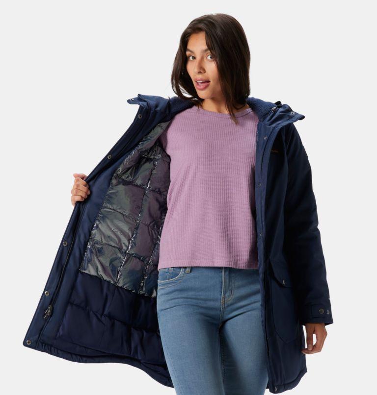 Suttle Mountain™ Long Insulated Jacket   472   XS Women's Suttle Mountain™ Long Insulated Jacket, Dark Nocturnal, a5