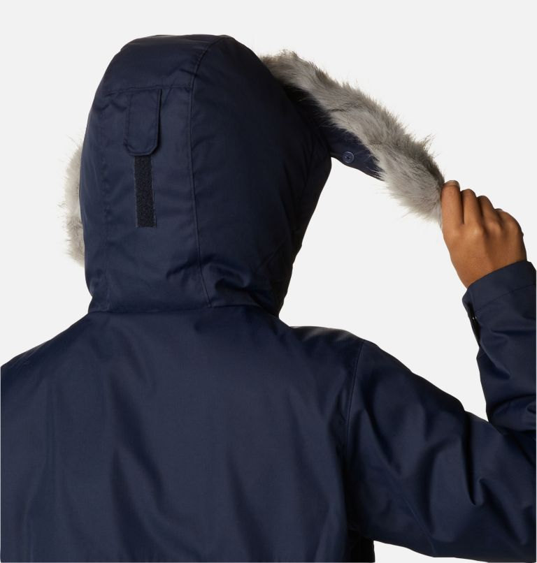 Suttle Mountain™ Long Insulated Jacket   472   L Women's Suttle Mountain™ Long Insulated Jacket, Dark Nocturnal, a5