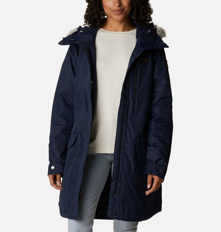 Suttle Mountain™ Long Insulated Jacket   472   L Women's Suttle Mountain™ Long Insulated Jacket, Dark Nocturnal, a6