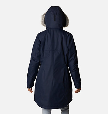 Women's Suttle Mountain™ Long Insulated Jacket Suttle Mountain™ Long Insulated Jacket | 619 | L, Dark Nocturnal, back